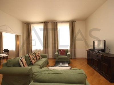 Furnished two-bedroom apartment (102 sq m) next to the Karlovo Náměstí (Square), Prague 2, Odborů Street