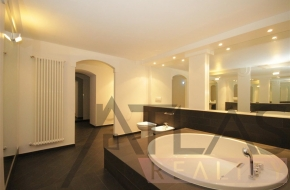 Gorgeous maisonette apartment for rent with terrace, 134 m2, Prague 5 - Smichov, near metro line B Andel
