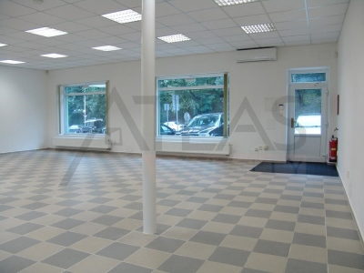 Rent of shop ( office - showroom ), 110 sq.m, Křesomyslova, Praha 4