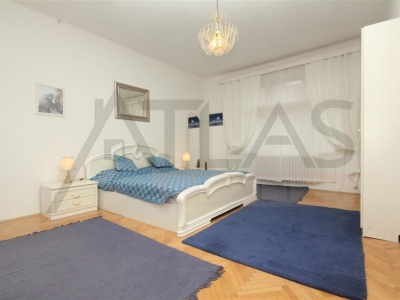 Rent of fully furnished 2-bedroom apartment, Prague 2 - Vinohrady, Slezska Street