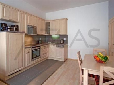 Fully furnished one bedroom apartment (40 sq.m.), Prague 5 - Smichov, at the metro Anděl (line B)