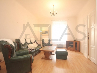 For rent fully furnished 2+kk (1 bedroom) apartment, Prague 8 Karlín, Metro Line C/B
