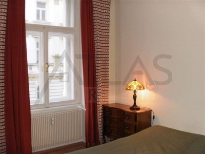 Partially furnished 2 bedroom apart. for rent, Prague 7, Pplk. Sochora, 5 mins foot from Metro C