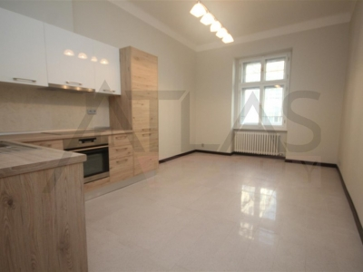 For rent 2 bedrooms unfurnished apartment Prague 3 - Vinohrady, Slezska street, at metro line A Flora