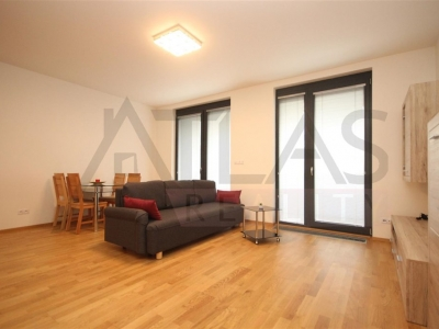 For rent one bedroom furnished apartment with parking Pragaue 7 - Holesovice, Delnicka street