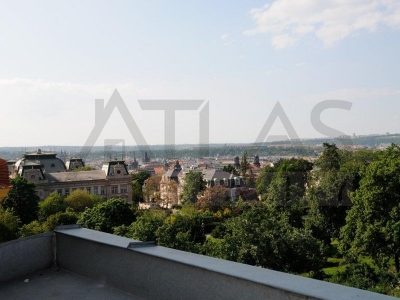 Duplex two bedroom attic apartment 121 m2 Prague 2 - Vinohrady, Polská street