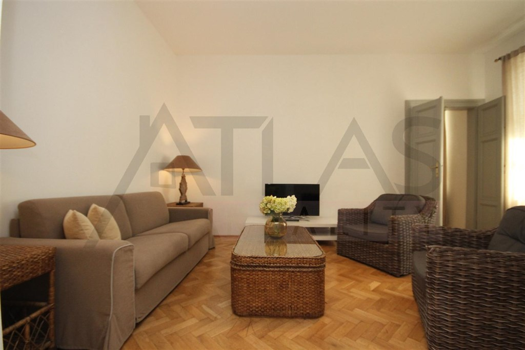 For rent furnished one bedroom apartment 60 m2 Prague 1 - Nove mesto, Ve smeckach street - just steps from Wenceslas Square