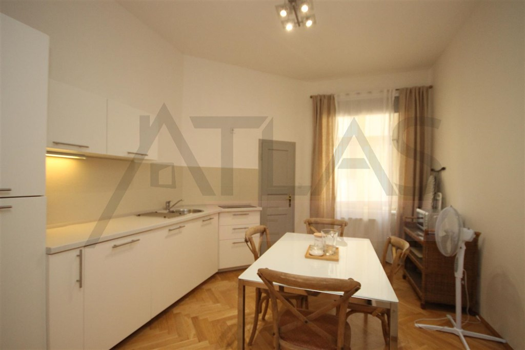 For rent furnished one bedroom apartment 60 m2 Prague 1 - Nove mesto, Ve smeckach street - just steps from Wenceslas SquareRegistration number: 8096